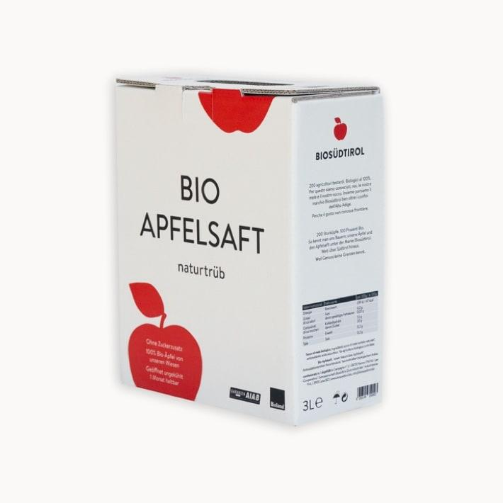 Organic Apple Juice - Biosüdtirol
