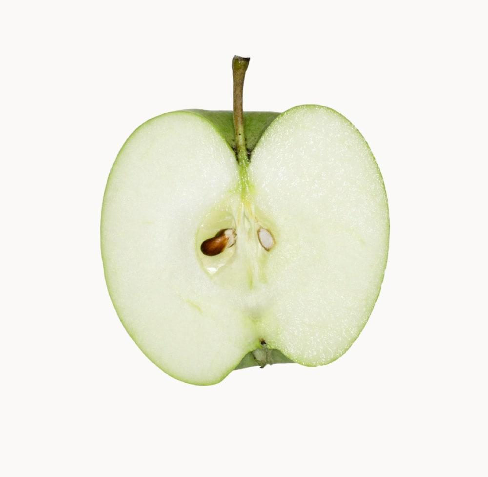 Biosuedtirol Granny Smith Detail Sliced