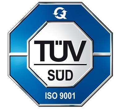 ISO 9001 TÜV SÜD Logo